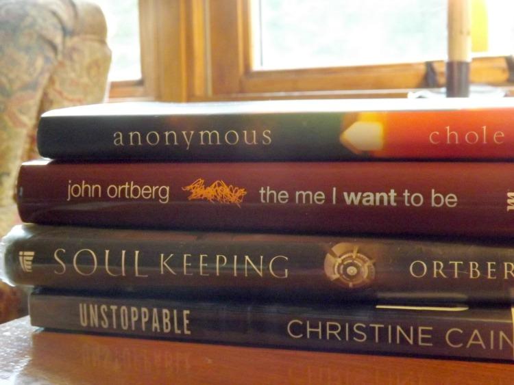 books, it's what's on the bookshelf